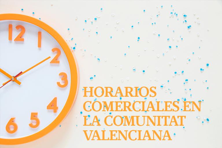 Horarios comerciales Comunitat Valenciana