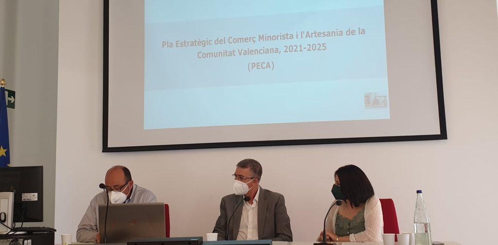 Presentación Plan Estratégico del Comercio Minorista y la Artesanía de la Comunitat Valenciana 2